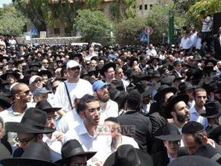 Baba Elazar's funeral 001