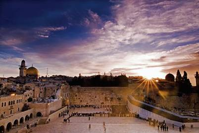 Temple Mount Wailing Wall