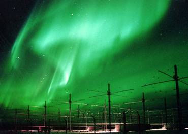 HAARP Atmospheric Heaters in Alaska