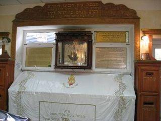 Grave of Rebbe Nachman in Uman