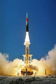 Israeli Jericho III Ballistic Missile