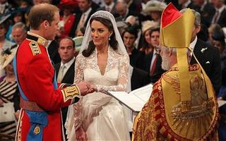 Wedding Vows and Ring William and Kate