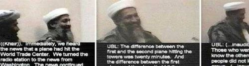 False Osama bin Laden confessing to 911
