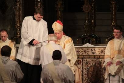 First Anglican Clergy ordained Roman Catholic Personal Ordinariate