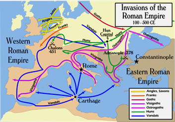 Migrations of the Germanic Israelite Gothic Tribes