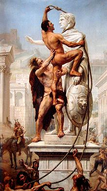 Sack of Rome by the Alaric and the Visigoths in 410