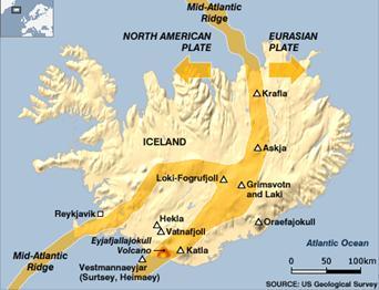Iceland's Major Volcanoes