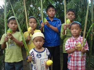 Bnei Menashe Children northeastern Indian state of Manip