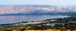 Sea of Galilee-Golan Heights
