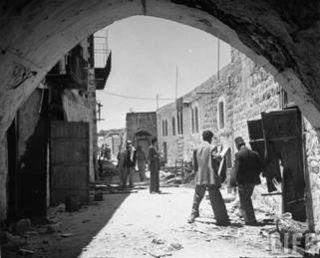 Jewish Quarter of Jerusalem Jewish Exile 1948