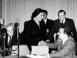 Moshe Sharett Golda Meir Ben Gurion