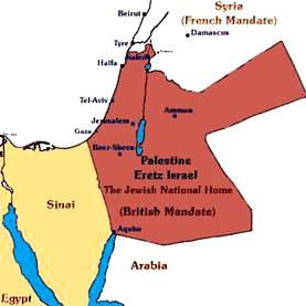British Mandate Jewish National Homeland
