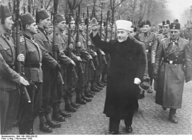 Grand Mufti Muslim Bosnia SS-Freiwilligen Nazi Division