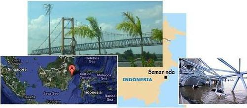 Collapsing Kalimantan's Golden Gate Bridge