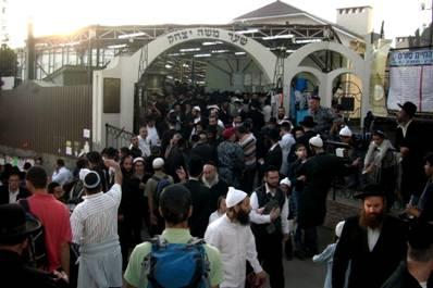 Pilgrimage Nachman's Grave at Rosh Hashanah