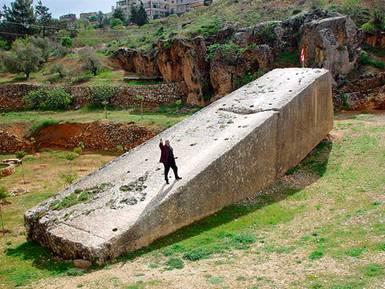 'Companion Stone' Baalbek Quarry