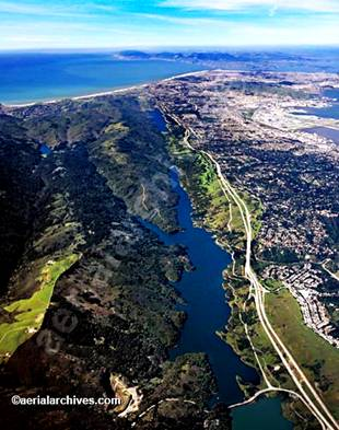 The San Andreas Fault up near San Francisco