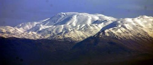 The Snow-capped Peaks of Mount Hermon