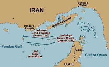 Maritime Vessels Straits of Hormuz