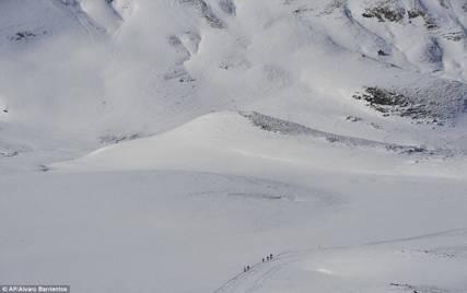 Spanish Pyrenees Snow
