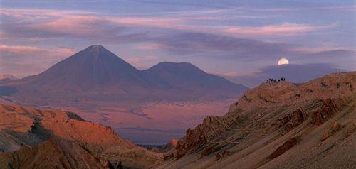 Valley of the Moon Cordillera de la Sal