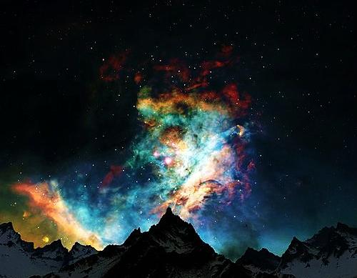 Galactic Fantasy of the Auroras Borealis
