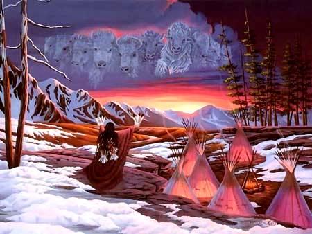 Legends Sacred White Buffalo