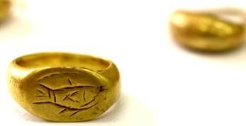 Golden Signet Ring of a Hebrew-Israelite