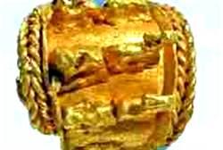 Golden Basket Earring