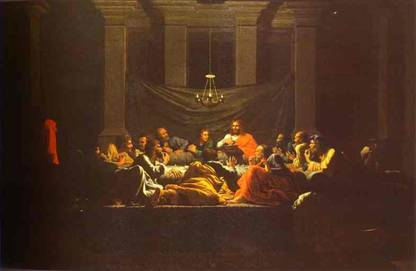 Nicolas Poussin Eucharist