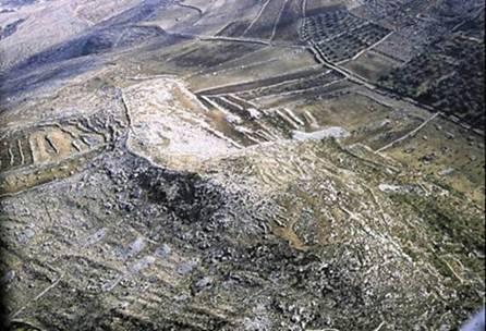 Terraces Israelite Encampment at Ebal