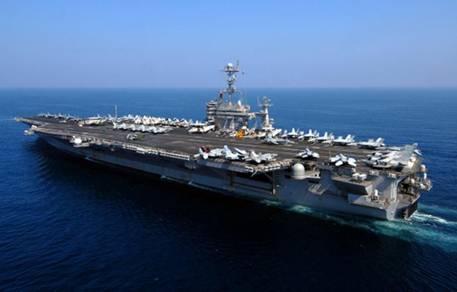 American Aircraft Carrier USS John C. Stennis
