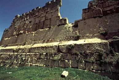 Trilithon Temple Jupiter Baalbek