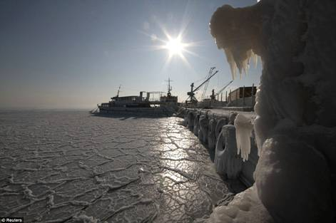 Black Sea Frozen