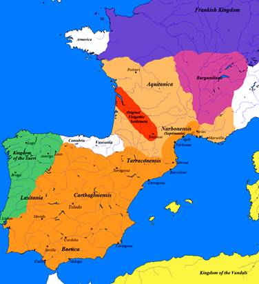 Visigoth kingdom of Aquitaine