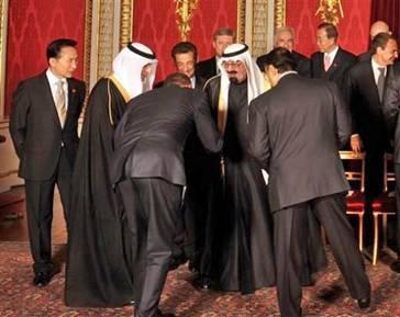Obama bows Abdullah
