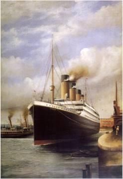 Titanic's Maiden Voyage