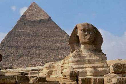 Water Erosion Sphinx Egypt