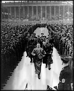 Fuhrer Adolf Hitler at Nuremberg Rally