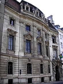 Palaise Rothschild at Prinz-Eugen-Straße 26