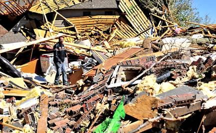 Tornado Picture Damages