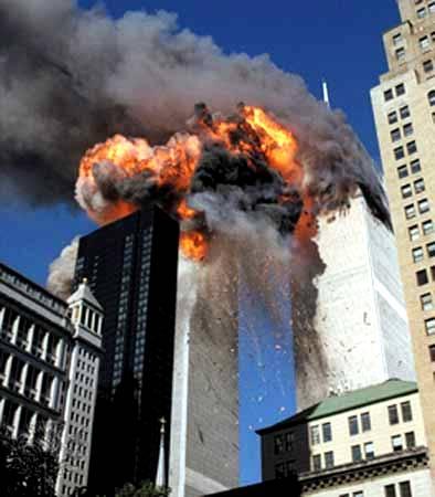 911 Twin Tower Destruction
