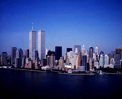 New York Skyline before 911