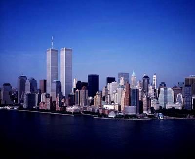 New York Skyline before 911