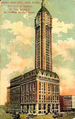 Singer Building New York