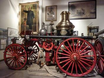 1901 La France Horse-Drawn Steam Engine