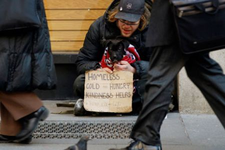 Poverty and Homeless in New York