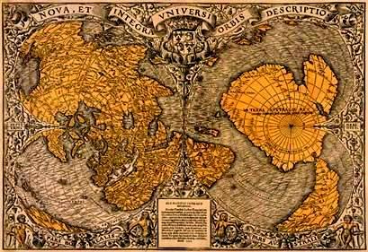 Oronteus Finaeus Map 1513