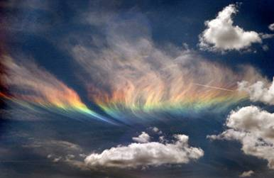 HAARP Scalar Weapon with Abnormal Circumzenithal Halo Clouds