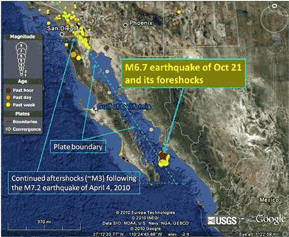Baja California Earthquakes